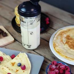 Shaker a crêpes, gaufres et pancakes