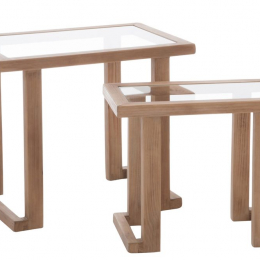 Set de 2 tables gigognes