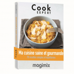 Livre de recettes Ma cuisine saine et gourmande