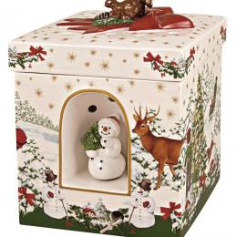 Paquet cadeau carré Sapin Christmas Toy's