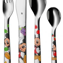 Couverts enfants 4 pièces Mickey Mouse